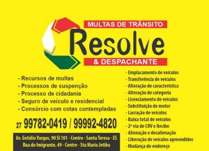 Resolve Consultoria Assessoria e Despachante